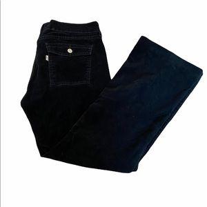 LEVIS 454 Low Bootcut Black WideLeg Corduroy Pant